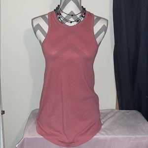 Small VS Pink Racerback Tank